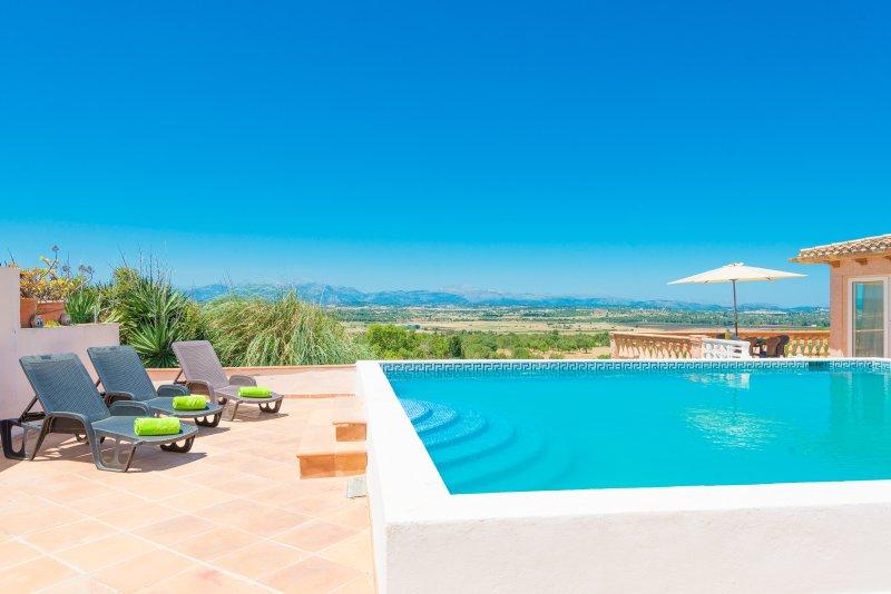 ES MOLÍ (ES MOLI DARIANY) - Villa for 10 people in ARIANY, holiday rental in Maria de la Salut