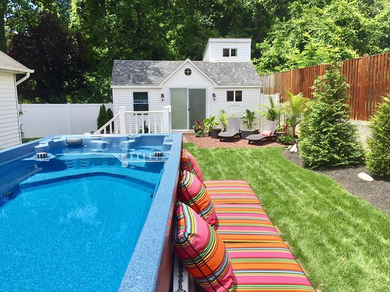 Open Your Doors To A Private Oasis Backyard