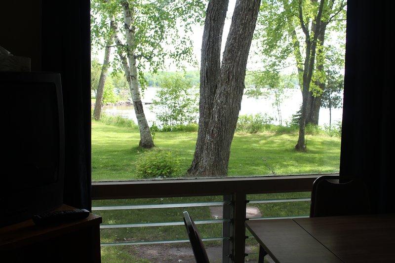 vista desde la ventana del salón