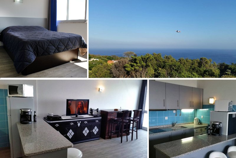 Cozy Apartment with explendid sea view rooftop - Machico, Madeira, holiday rental in Canical