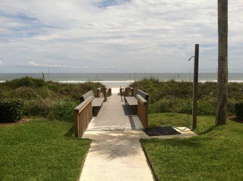 Board Walk to the Beach