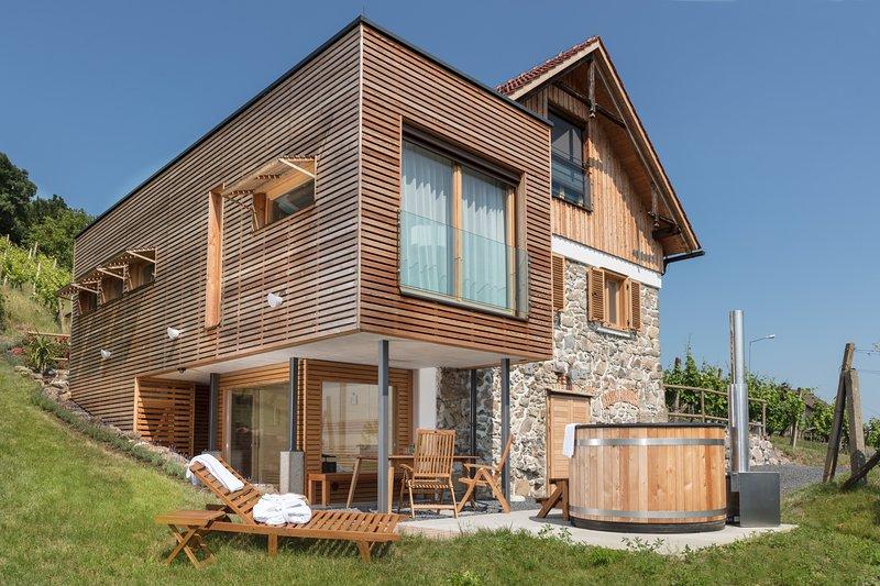 Weinberg Lodge Klöch - Das Presshaus, alquiler vacacional en Riegersburg
