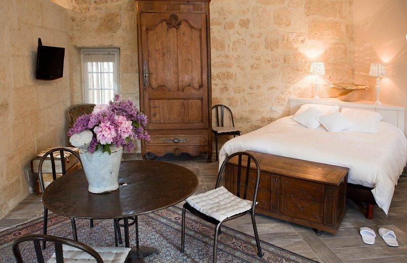 La suite Eau, holiday rental in Lussac