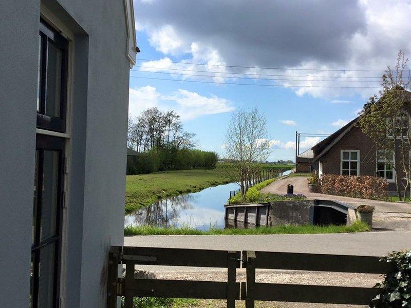 Leuke vakantiewoning rustig en centraal gelegen in de randstad., holiday rental in Reeuwijk
