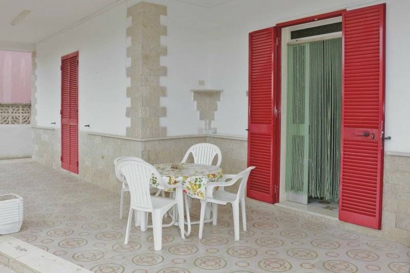 Salento: a large house 300 meters from the beach in Torre Lapillo, Porto Cesareo.
