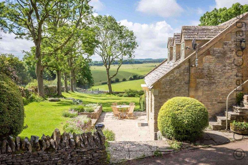 Cottage de María es una impresionante casa de vacaciones, en un entorno rural único