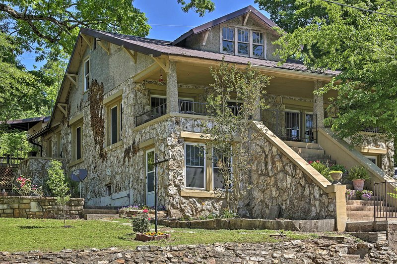 Enjoy the beauty of historic Hardy from this 4-bedroom, 2-bathroom vacation rental house built in 1924!