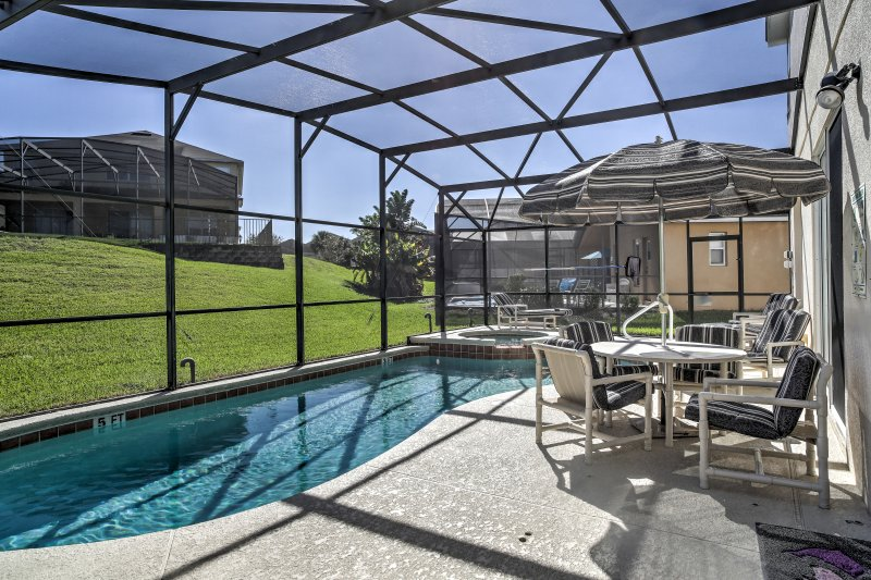 Escape to this Kissimmee vacation rental villa!