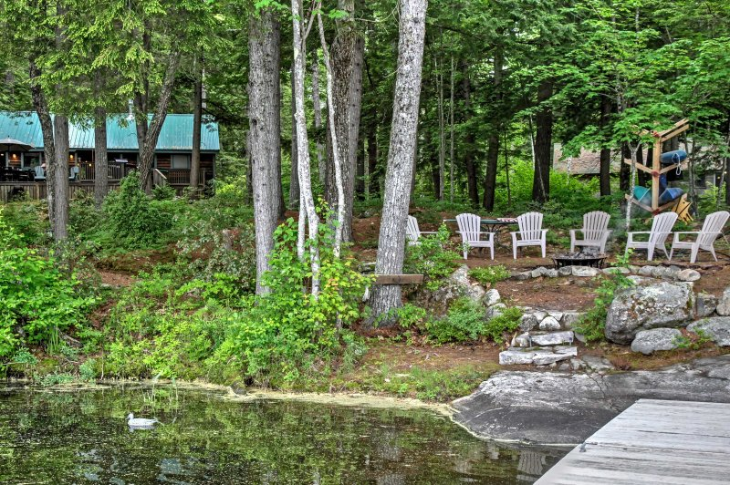 Pack your bags for a magnificent Maine getaway at this marvelous Denmark vacation rental cottage!