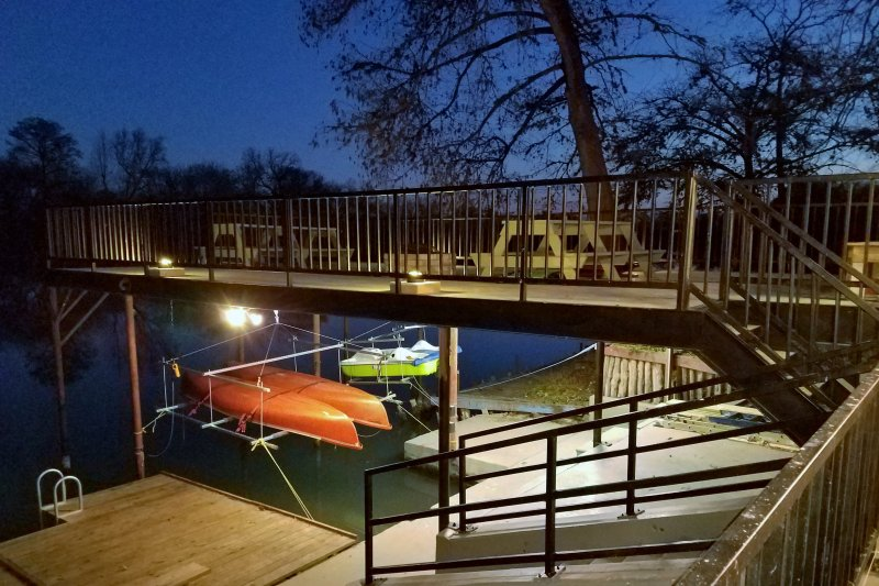 Waterfront 'Guadalupe River Lodge' Seguin Home UPDATED