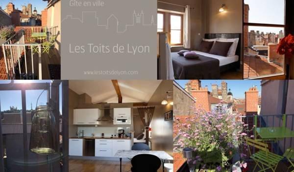 "Loft ""Les Toits de Lyon"" 3* fully furnished, holiday rental in Lyon"