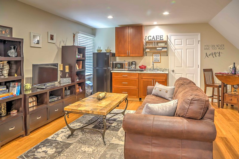 Call this new Fishkill vacation rental studio home while visiting Hudson Valley!