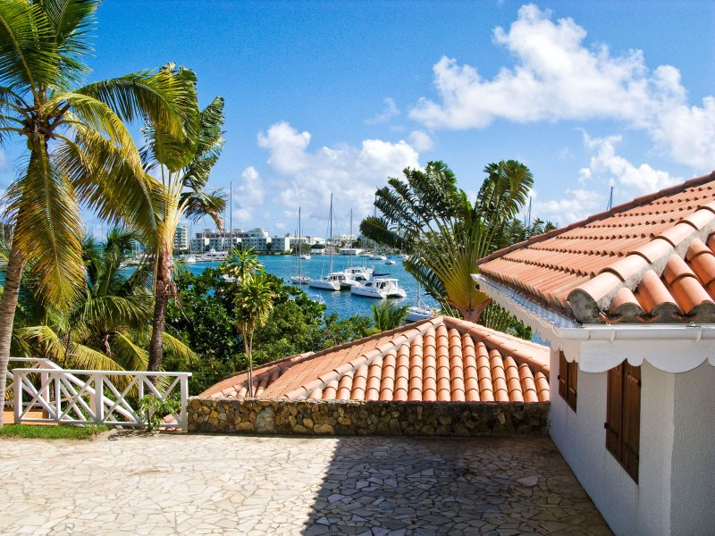 Coralita...a 4BR vacation rental in French Oyster Pond, St. Maarten ******* 8555