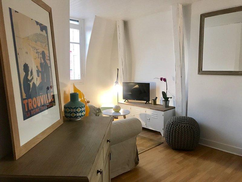 T2 AU COEUR DE TROUVILLE, vacation rental in Tourgeville