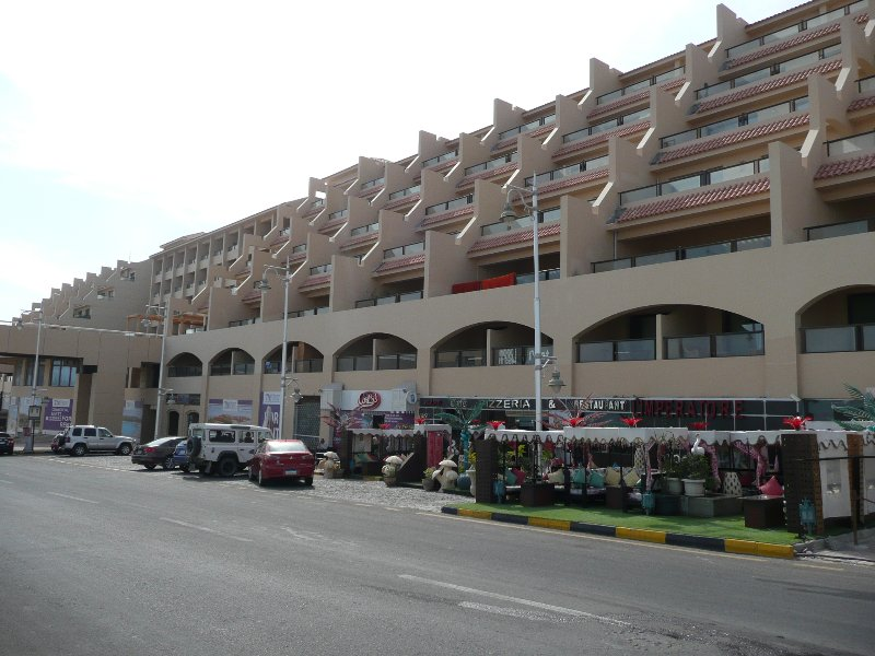 The main building of The View Residence