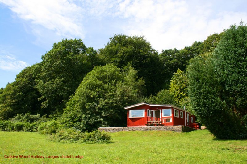 Woodpecker Lodge at Cutkive Wood