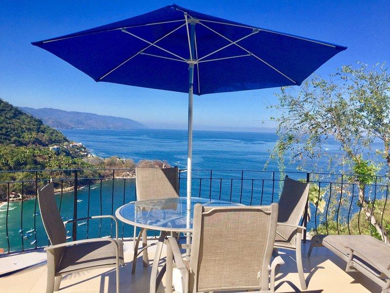 Villas Altas Mismaloya B3 Dream Ocean View Puerto Vallarta, holiday rental in Boca de Tomatlan