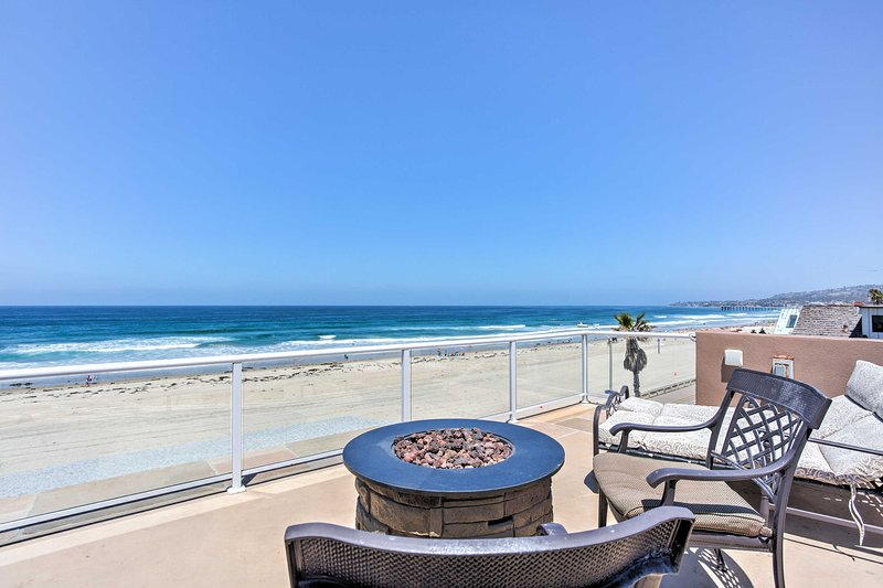 Bask in sunshine at this 4-bedroom, 3-bath vacation rental house in San Diego!