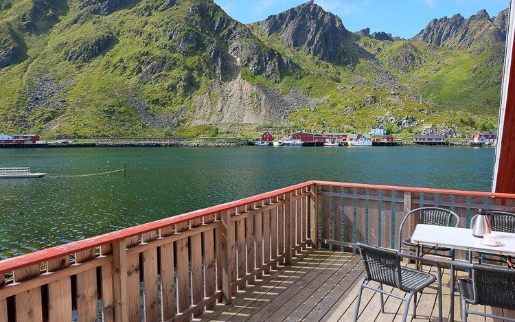 Annebua  Cabin in Hemmingodden Lofoten Fishing Lodge, holiday rental in Nordland