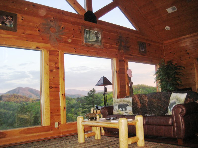Imagine yourself relaxing and taking in this view out your large picture windows.