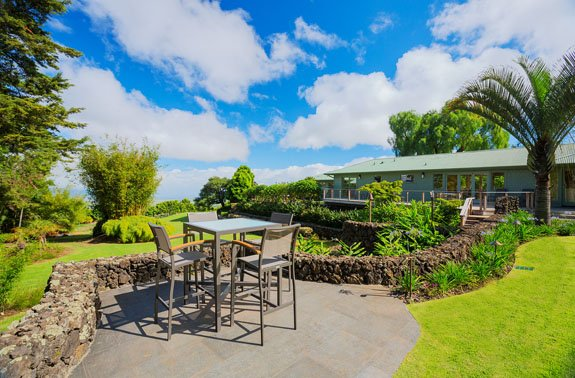 Nestled on the slopes of Haleakala with a spectacular garden setting, alquiler de vacaciones en Makawao