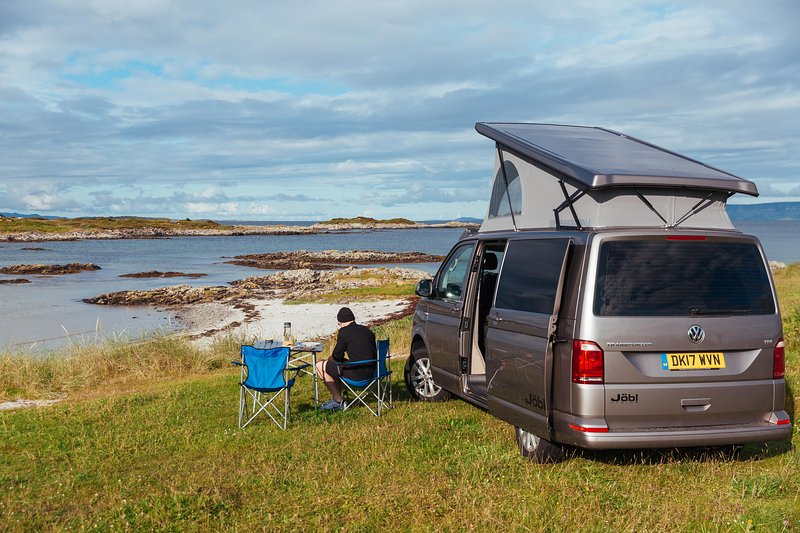 Hire Campervan Scotland in our luxury campervans near Glasgow and Edinburgh.  All inclusive prices!!