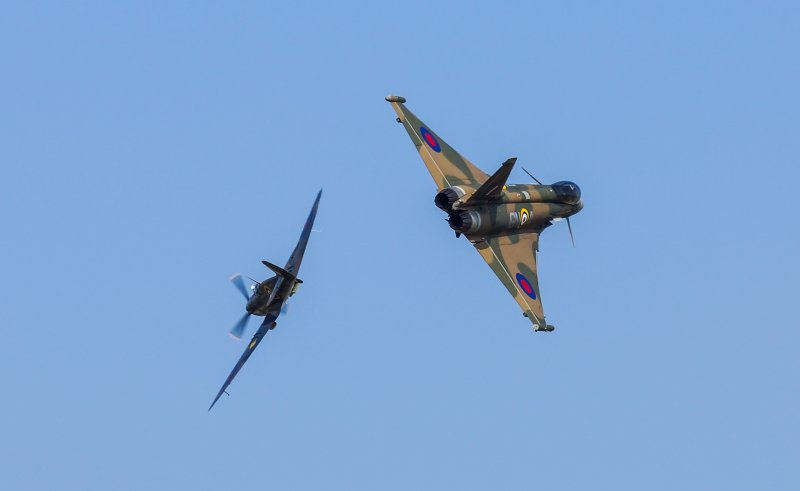 Did I mention the Aircraft... both Old and New?