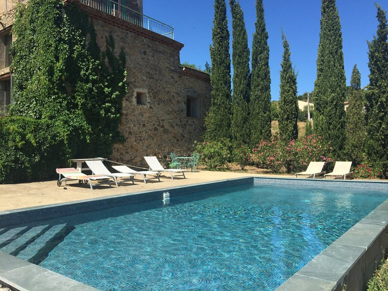 Maison de Maitre near St Chinian, holiday rental in Olargues