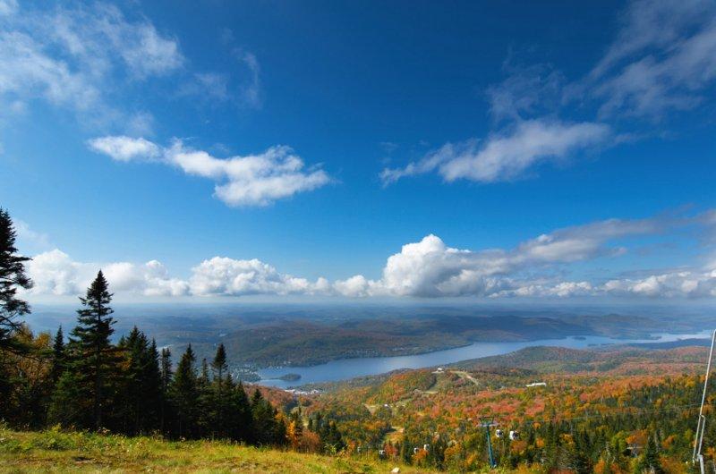 Vistas da Cimeira no Verão / Outono