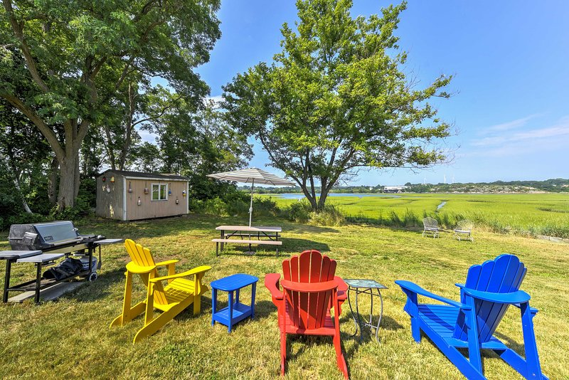 Lovely 'Blue Heron Cottage' on Annisquam River!, holiday rental in Manchester-by-the-Sea