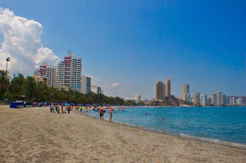 Spiaggia El Rodadero