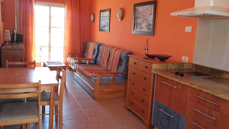 The main room or meals (french and Canarian) morning and evening you will book