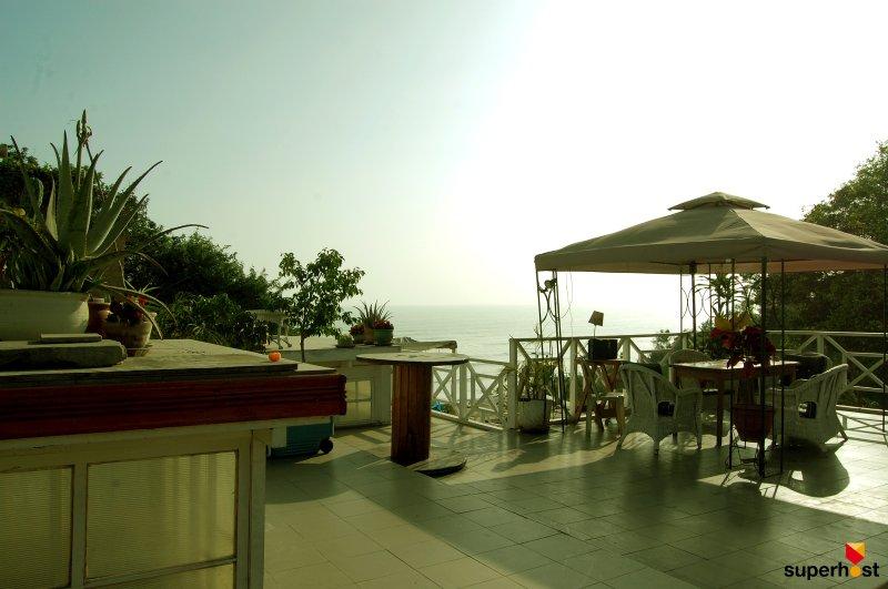 Ocean view form the main terrace