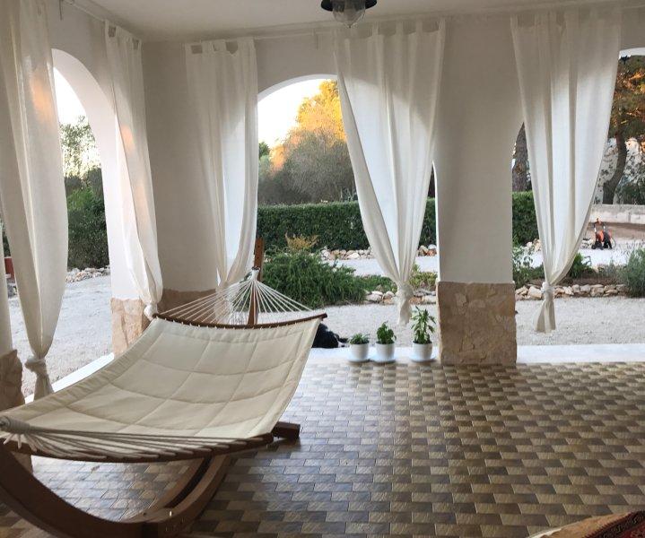 Un relajante patio