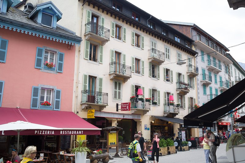 Apartment in historical center of Chamonix
