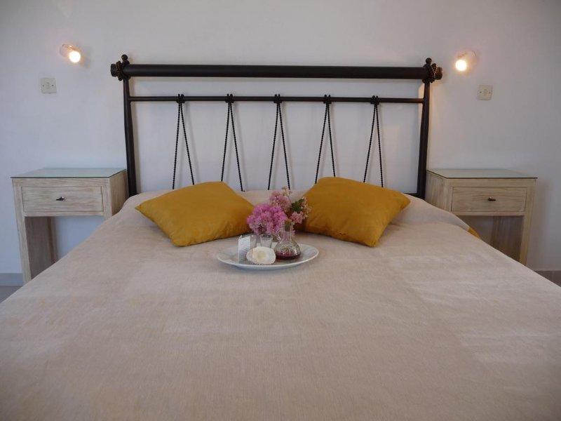 Kastraki Dunes Naxos Double Room, holiday rental in Pyrgaki