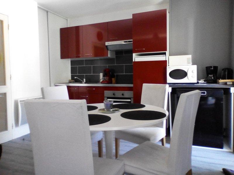 APPARTEMENT 2 PIECES de 42 m2 POUR 4 PERSONNES A 5, vacation rental in Ascou