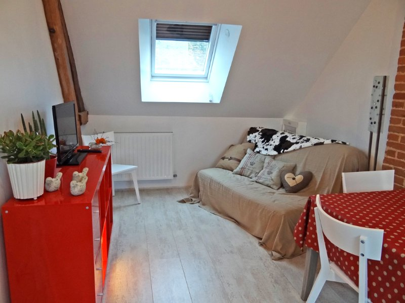Le Grenier, joli appartement en coeur de ville, holiday rental in Chaufour-les-Bonnieres