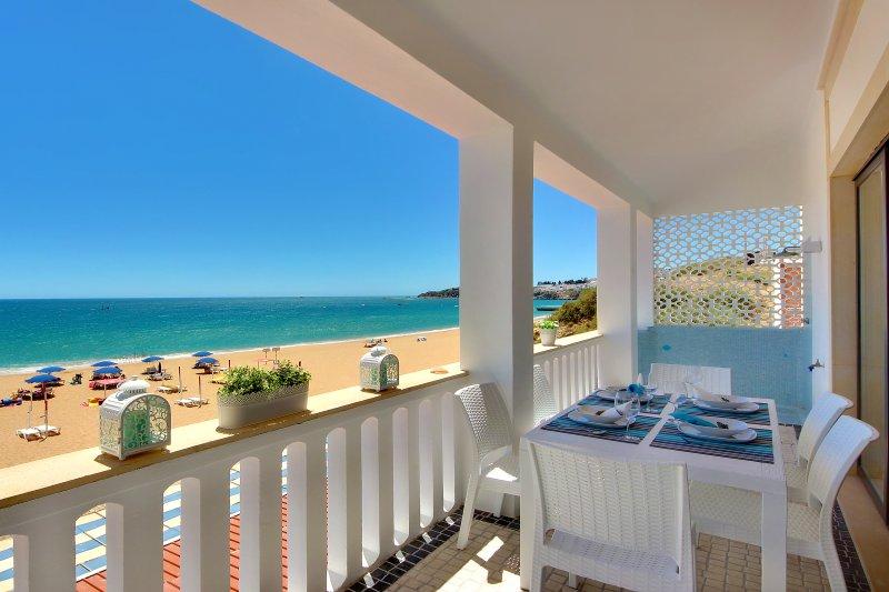 eau / plage terrasse avant avec douche