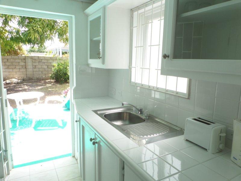 A simple clean bright studio apartment