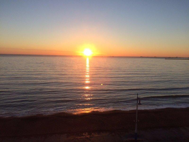 Amazing spring sunrise