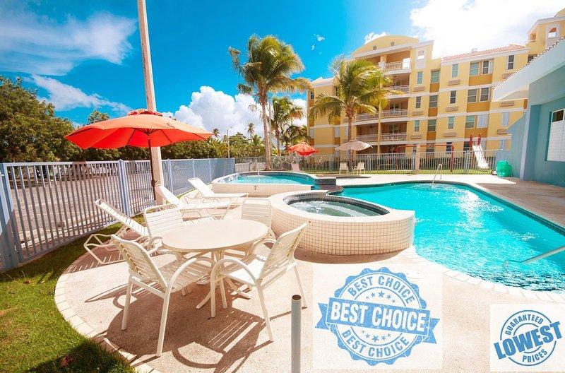 Luxury Beachfront Garden Villa near of San Juan - 1st Floor, aluguéis de temporada em Loiza