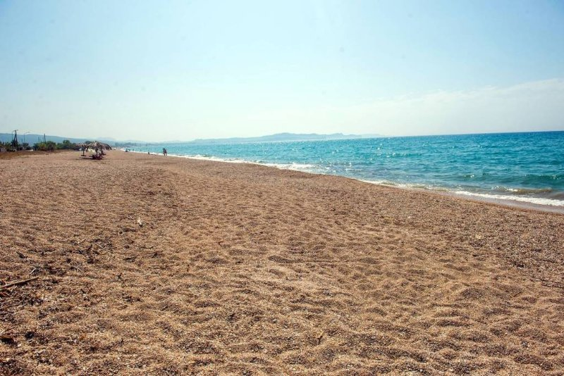 Almyros long sandy beach, 4 minutes from the house