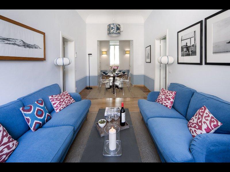 sala de estar / comedor detalle