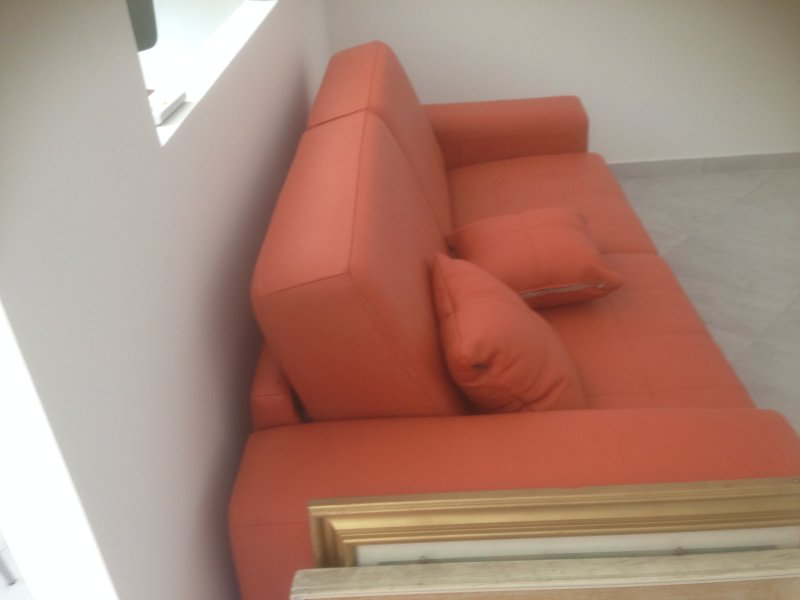 Living Room with Sofa Bed Double