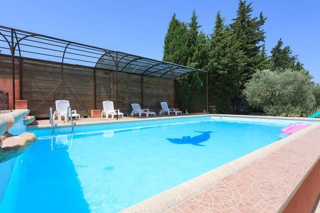 Vista a la piscina 5 * 9