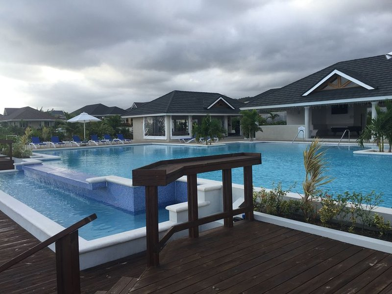 Infinity Swimming Pool, Club House and GYM.