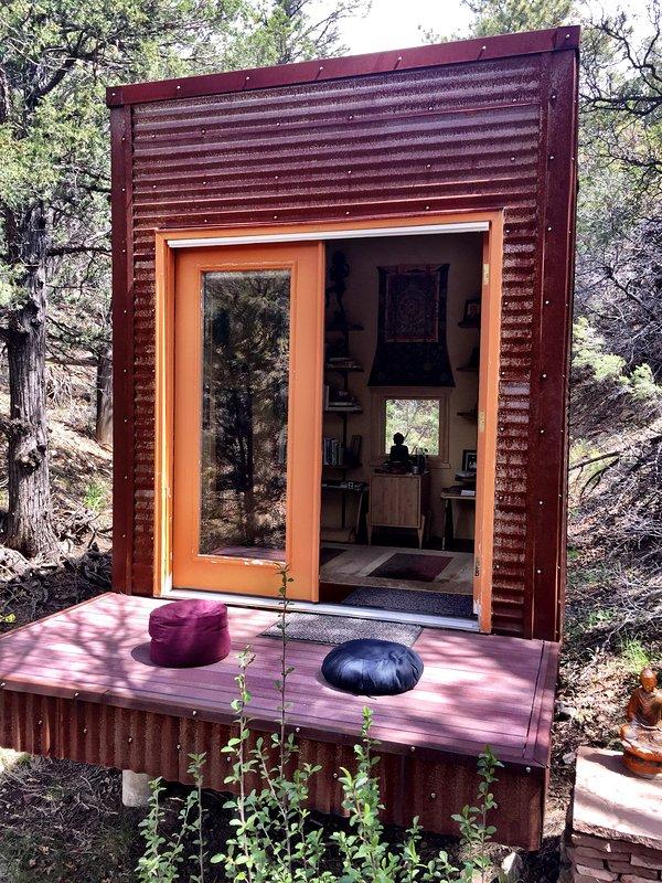 cabane de méditation