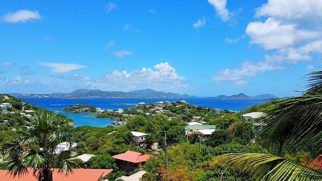 Increíbles vistas panorámicas desde Coral terraza!