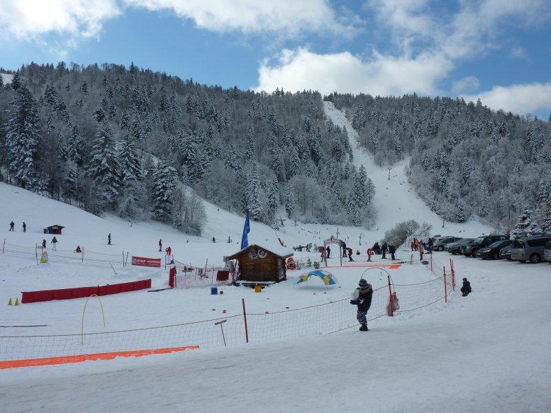 ski resort 5 min